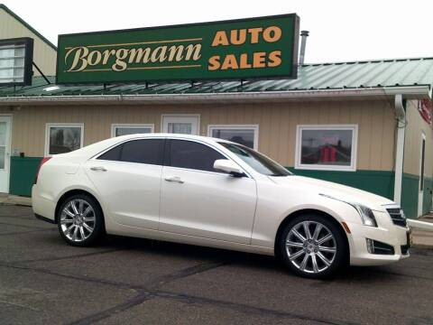 2013 Cadillac ATS for sale at Borgmann Auto Sales in Norfolk NE