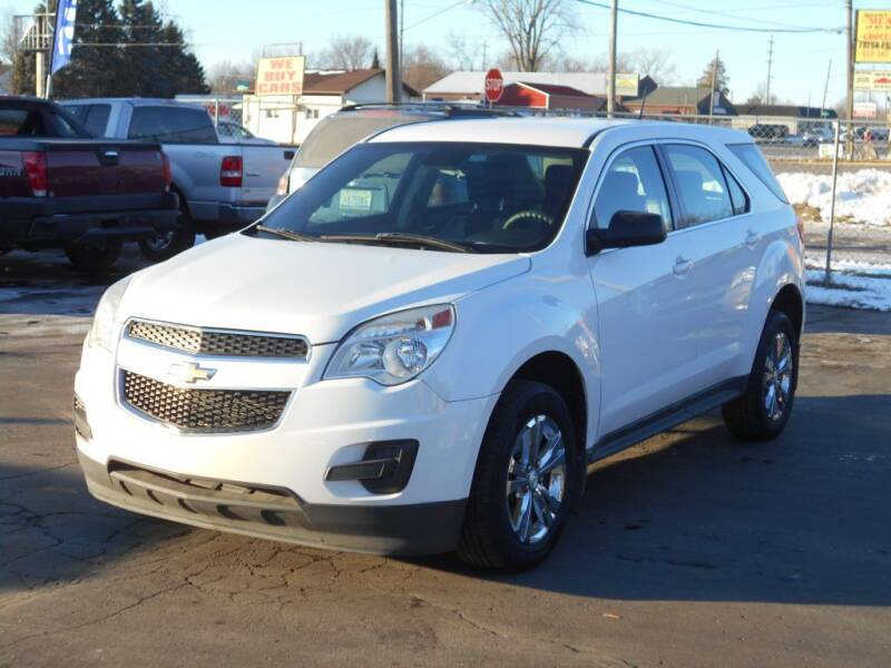 2013 Chevrolet Equinox for sale at MT MORRIS AUTO SALES INC in Mount Morris MI