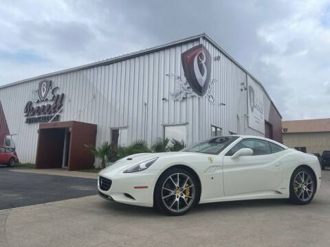 2014 Ferrari California for sale at Barrett Auto Gallery in San Juan TX
