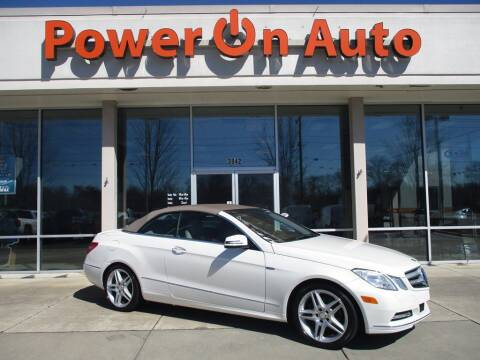 2012 Mercedes-Benz E-Class for sale at Power On Auto LLC in Monroe NC