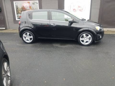 2014 Chevrolet Sonic for sale at Bonney Lake Used Cars in Puyallup WA
