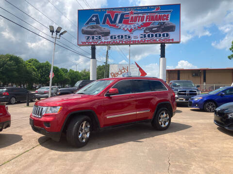 2011 Jeep Grand Cherokee for sale at ANF AUTO FINANCE in Houston TX