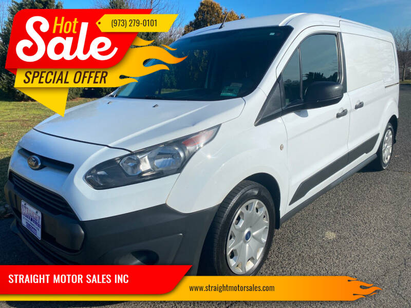 2015 Ford Transit Connect Cargo for sale at STRAIGHT MOTOR SALES INC in Paterson NJ