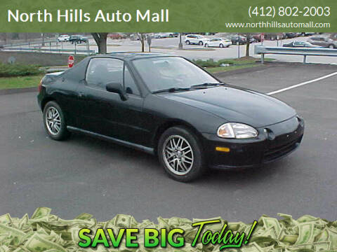 1994 Honda Civic del Sol for sale at North Hills Auto Mall in Pittsburgh PA