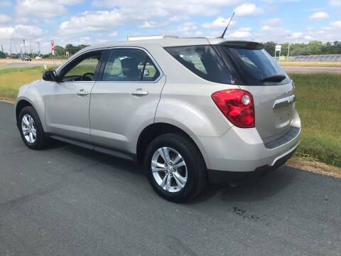 2012 Chevrolet Equinox for sale at Whi-Con Auto Brokers in Shakopee MN