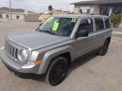 2015 Jeep Patriot for sale at Hilltop Motors in Globe AZ