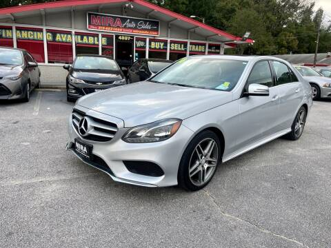 2014 Mercedes-Benz E-Class for sale at Mira Auto Sales in Raleigh NC