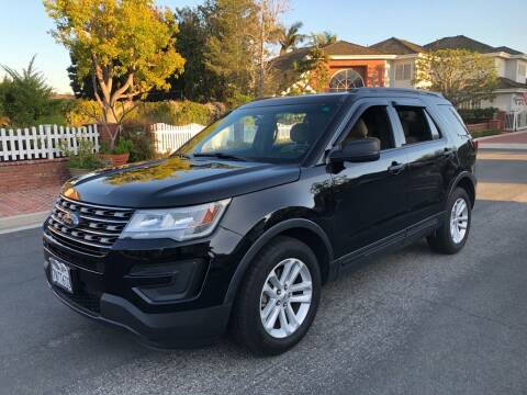 2016 Ford Explorer for sale at Carmelo Auto Sales Inc in Orange CA