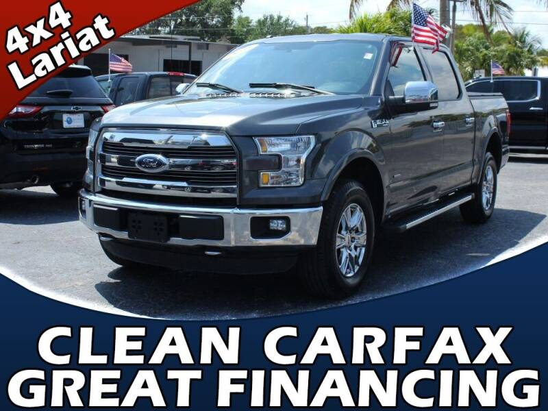 2016 Ford F-150 for sale at Palm Beach Auto Wholesale in Lake Park FL
