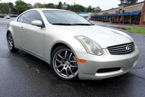 2005 Infiniti G35 for sale at CU Carfinders in Norcross GA