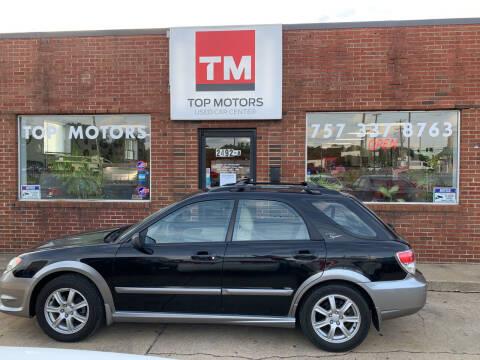 2007 Subaru Impreza for sale at Top Motors LLC in Portsmouth VA