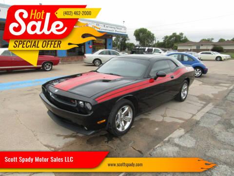 2010 Dodge Challenger for sale at Scott Spady Motor Sales LLC in Hastings NE