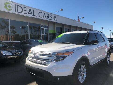 2015 Ford Explorer for sale at Ideal Cars East Main in Mesa AZ