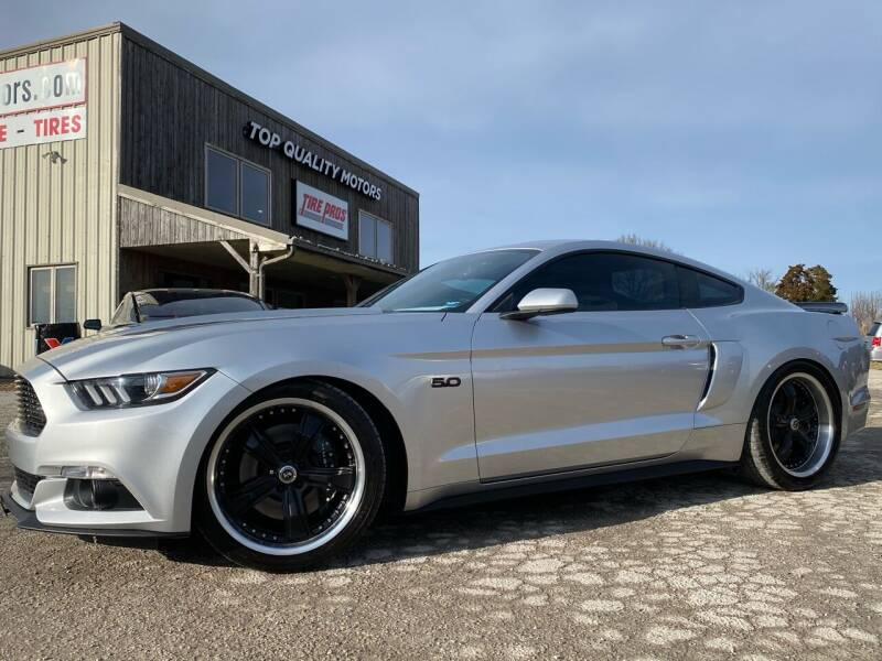 2016 Ford Mustang for sale at Top Quality Motors & Tire Pros in Ashland MO
