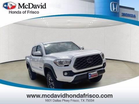 2020 Toyota Tacoma for sale at DAVID McDAVID HONDA OF IRVING in Irving TX