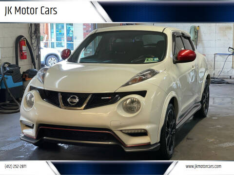 2013 Nissan JUKE for sale at JK Motor Cars in Pittsburgh PA