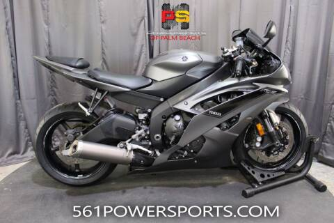 2016 Yamaha YZF-R6 for sale at Powersports of Palm Beach in Hollywood FL