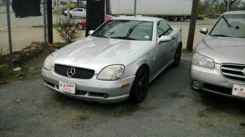 1999 Mercedes-Benz SLK for sale at E-Z Pay Used Cars in McAlester OK