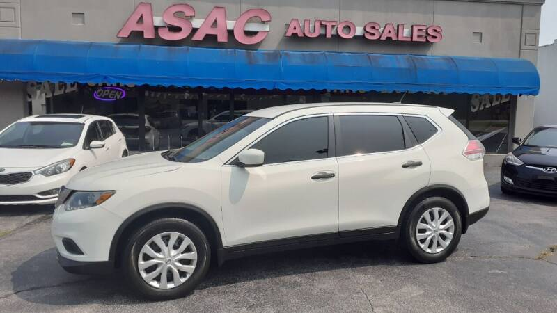 2016 Nissan Rogue for sale at ASAC Auto Sales in Clarksville TN