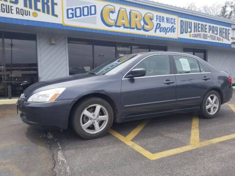 2005 Honda Accord for sale at Good Cars 4 Nice People in Omaha NE