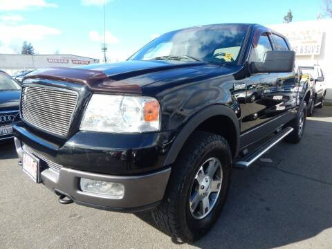 2004 Ford F-150 for sale at Adams Auto Sales in Sacramento CA