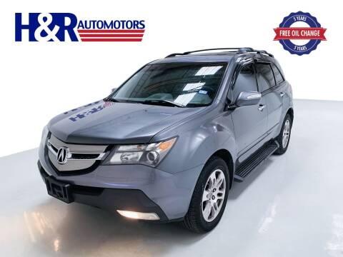 2009 Acura MDX for sale at H&R Auto Motors in San Antonio TX
