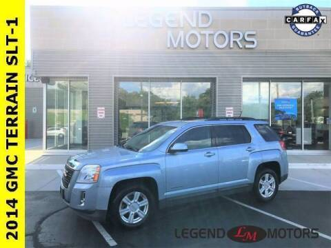 2014 GMC Terrain for sale at Legend Motors of Waterford - Legend Motors of Detroit in Detroit MI
