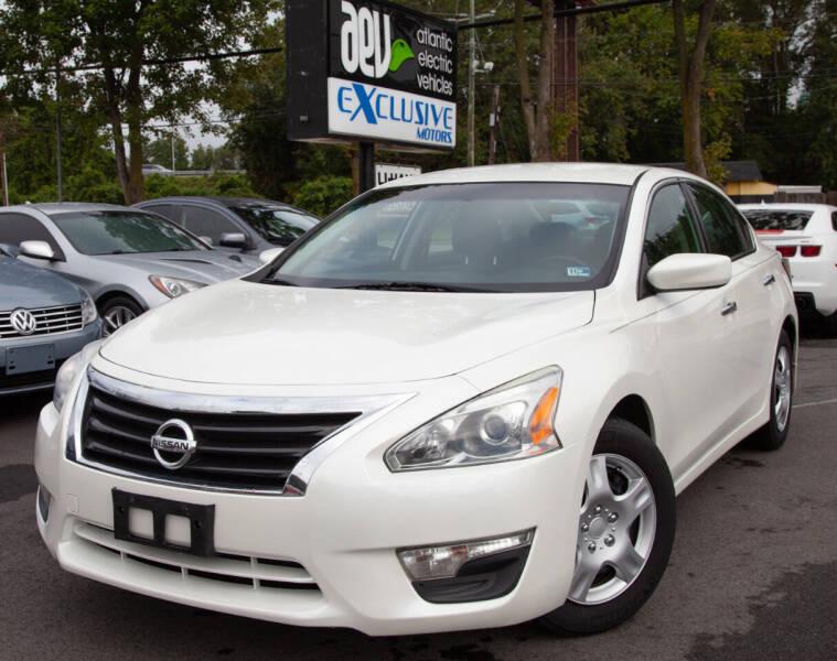 2015 Nissan Altima for sale at EXCLUSIVE MOTORS in Virginia Beach VA