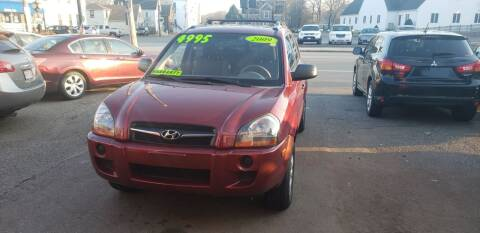 2009 Hyundai Tucson for sale at TC Auto Repair and Sales Inc in Abington MA