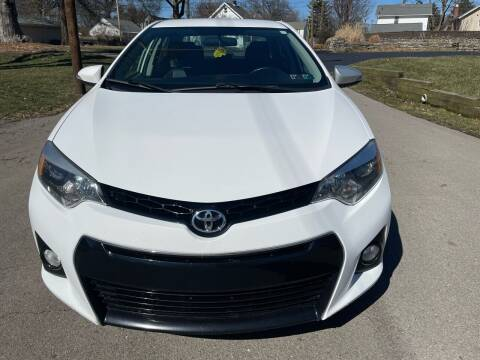 2015 Toyota Corolla for sale at Via Roma Auto Sales in Columbus OH