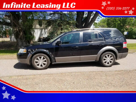 2008 Ford Taurus X for sale at Infinite Leasing LLC in Lastrup MN