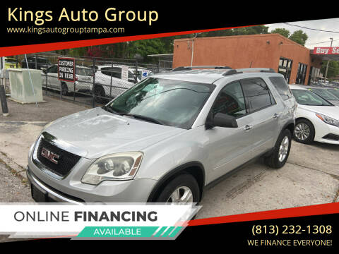 2011 GMC Acadia for sale at Kings Auto Group in Tampa FL