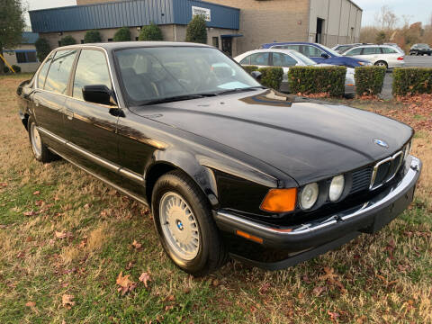 1990 BMW 7 Series for sale at Essen Motor Company, Inc in Lebanon TN