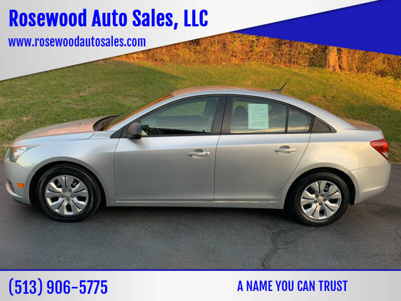 2014 Chevrolet Cruze for sale at Rosewood Auto Sales, LLC in Hamilton OH
