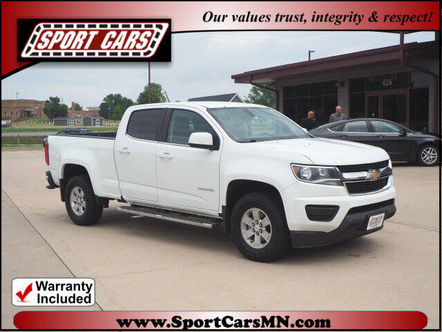 2019 Chevrolet Colorado for sale at SPORT CARS in Norwood MN