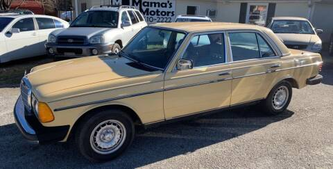 1982 Mercedes-Benz 240-Class for sale at Mama's Motors in Greer SC