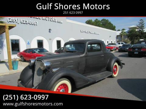 1934 Nash Coupe
