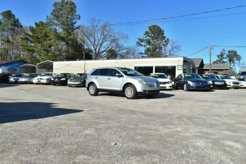 2011 Lincoln MKX for sale at Barrett Auto Sales in North Augusta SC