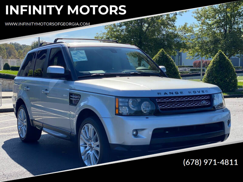 2012 Land Rover Range Rover Sport for sale at INFINITY MOTORS in Gainesville GA