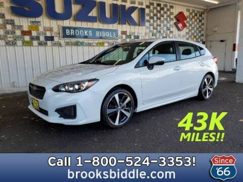 2018 Subaru Impreza for sale at BROOKS BIDDLE AUTOMOTIVE in Bothell WA