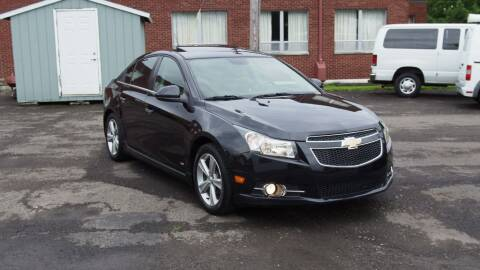 2012 Chevrolet Cruze for sale at Just In Time Auto in Endicott NY