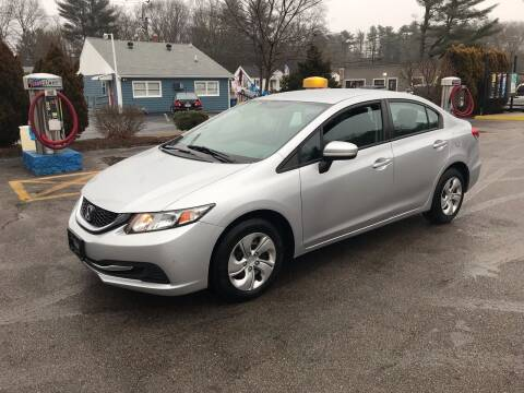 2014 Honda Civic for sale at Best Buy Automotive in Attleboro MA