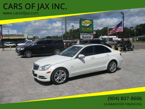 2012 Mercedes-Benz C-Class for sale at CARS OF JAX INC. in Jacksonville FL