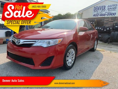 2013 Toyota Camry for sale at Denver Auto Sales in Lincoln NE