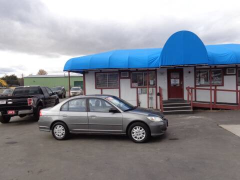 2004 Honda Civic for sale at Jim's Cars by Priced-Rite Auto Sales in Missoula MT