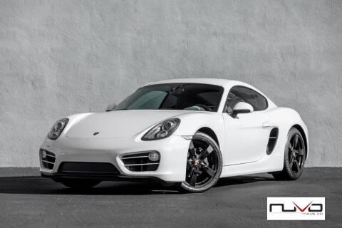 2014 Porsche Cayman for sale at Nuvo Trade in Newport Beach CA