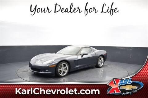 2009 Chevrolet Corvette for sale at Karl Pre-Owned in Glidden IA