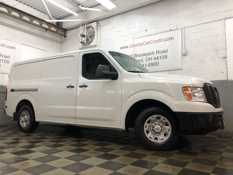 2013 Nissan NV Cargo for sale at County Car Credit in Cleveland OH