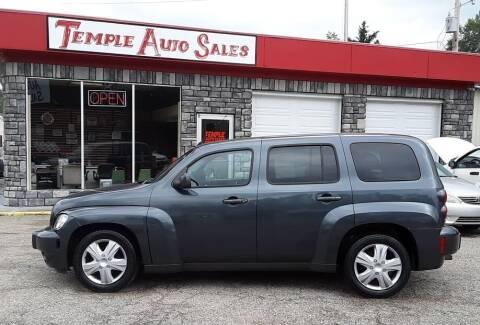 2011 Chevrolet HHR for sale at TEMPLE AUTO SALES in Zanesville OH