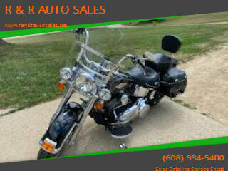 2012 Harley-Davidson Soft Tail Heritage for sale at R & R AUTO SALES in Juda WI